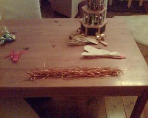 Kerstboom aftuigen 2012