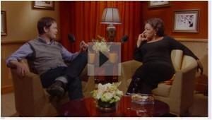 Oprah & Rainn Wilson